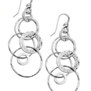 Ippolita Silver Multi-Link Earrings